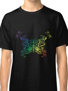 Abstract multicolored butterfly Classic T-Shirt