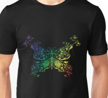 Abstract multicolored butterfly Unisex T-Shirt