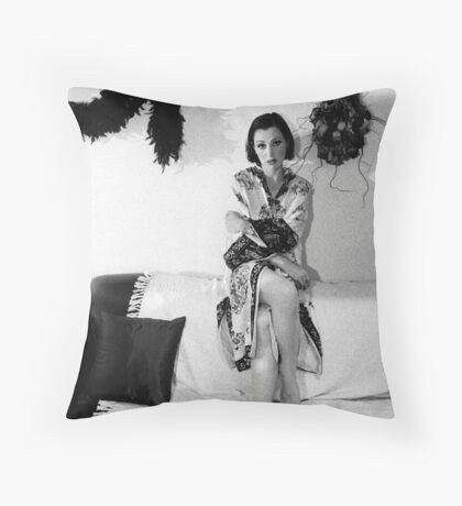 Tina Arena Throw Pillow