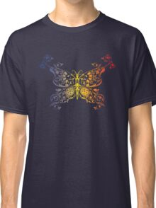 Abstract multicolored butterfly 2 Classic T-Shirt
