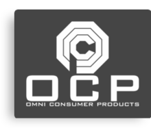 OCP - Omni Consumer Products Canvas Print