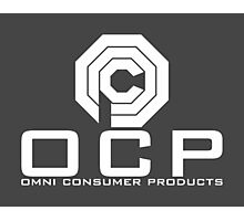 OCP - Omni Consumer Products Photographic Print