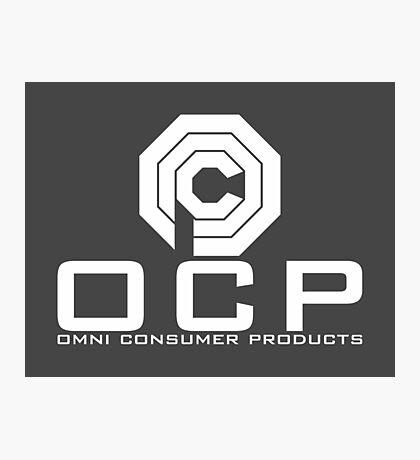 OCP - Omni Consumer Products Photographic Print