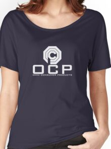 OCP - Omni Consumer Products Women's Relaxed Fit T-Shirt