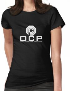 OCP - Omni Consumer Products Womens Fitted T-Shirt