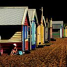 Day at the Beach by Annette Blattman