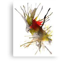 COCKATIEL INK Canvas Print