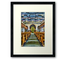 We Are Never Alone At Christmas Framed Print
