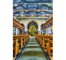 We Are Never Alone At Christmas Photographic Print