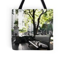 City Bench Tote Bag