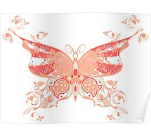 Colorful Butterfly 4 Poster