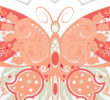 Colorful Butterfly 4 Sticker