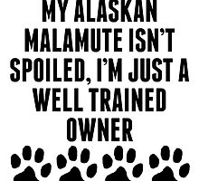 Well Trained Alaskan Malamute Owner by kwg2200