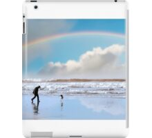 one man and his dog iPad Case/Skin