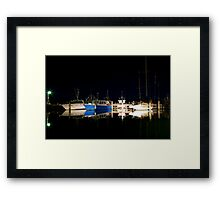 Lakes entrance Framed Print