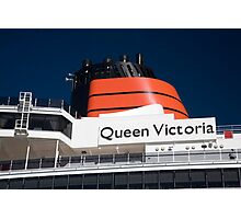 Queen Victoria Photographic Print