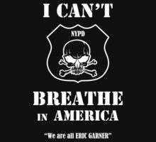 I Can't Breathe in America by Samuel Sheats