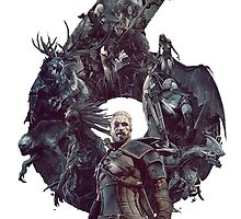 The Witcher 3 : Wild Hunt style by toenes524