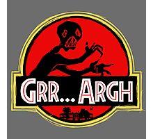Grrassic Pargh Photographic Print