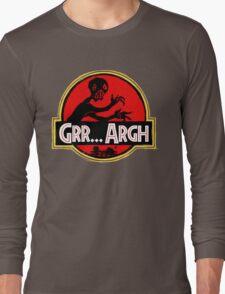 Grrassic Pargh Long Sleeve T-Shirt