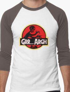 Grrassic Pargh Men's Baseball ¾ T-Shirt
