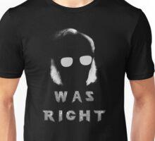 ASIMOV WAS RIGHT Unisex T-Shirt