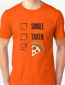 how about pizza? Unisex T-Shirt