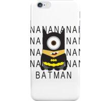 Minion Batman iPhone Case/Skin