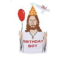 Jesus - Birthday Boy Photographic Print