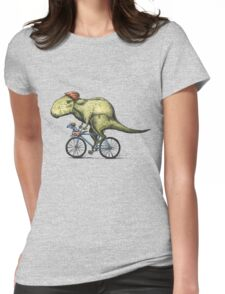 T-rex Bikers Womens Fitted T-Shirt