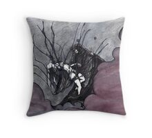 Death and the Maiden Throw Pillow