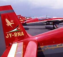Royal Jordanian Falcons by Chris Ayre