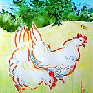 Vermont, Life for Chickens There Was Swell, by Edward Huse, 2008 by Edward Huse