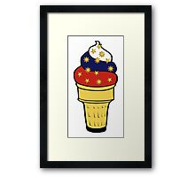 Pinoy Cone Framed Print