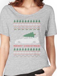 STI Ugly Christmas Sweater (2005) Women's Relaxed Fit T-Shirt