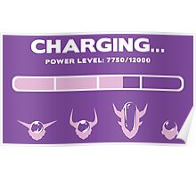CHARGING FRIEZA Poster
