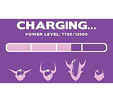 CHARGING FRIEZA Photographic Print
