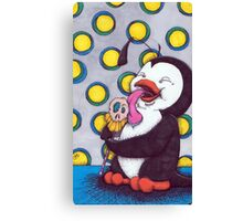 penguin pop Canvas Print