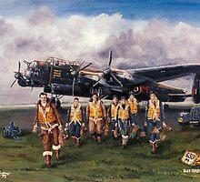 630 Sqdn Lancaster by Woodie