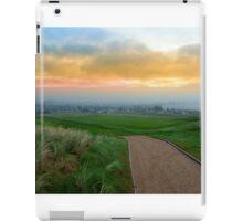 path to a Fogy Ballybunion graveyard iPad Case/Skin
