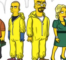 Breaking  Bad - Simpsons Sticker