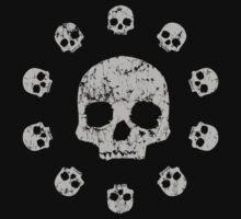 Circle of Skulls t shirt by iEric