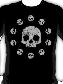 Circle of Skulls t shirt T-Shirt