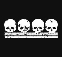 Skull Row t shirt by iEric