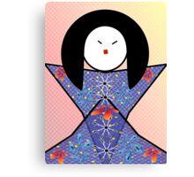 Japanese Girl Canvas Print