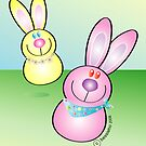 Bouncing Bunnies by Bessie Ho