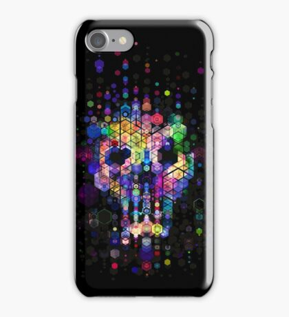 Monstrously colorful elementary particles iPhone Case/Skin