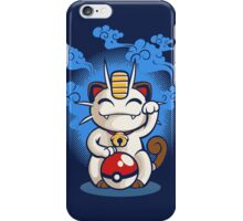 Lucky Meowth iPhone Case/Skin