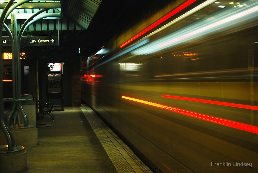 A Train of Lightspeed by Franklin Lindsey