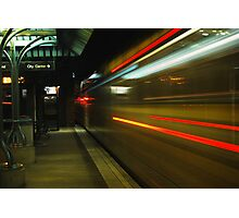 A Train of Lightspeed Photographic Print